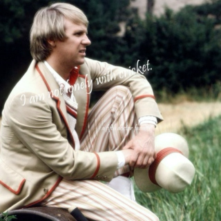 I Am Not Lonely With Cricket {A Fifth Doctor fanmix}