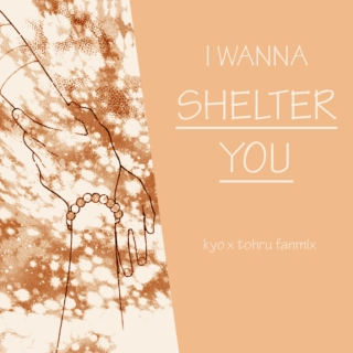 to shelter you