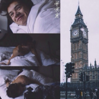 ☾sleeping with harry☽