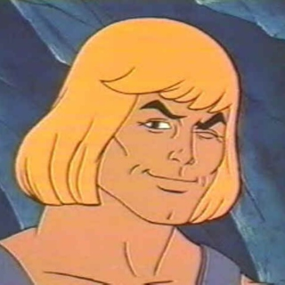 He Man // Nic Cage