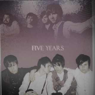 three cheers for five years