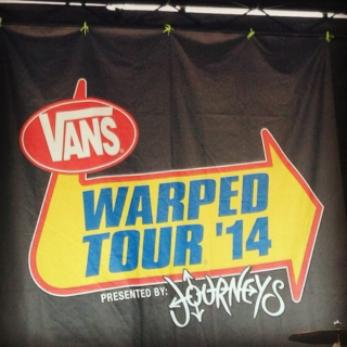 Couldn't wait for the summer and the Warped Tour