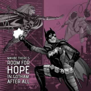 Maybe there's room for hope in Gotham, after all