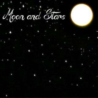 Moon and Stars【A writing mix】