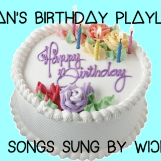 Bean's Birthday Playlist