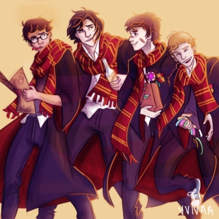 Messrs: Moony, Wormtail, Padfoot and Prongs