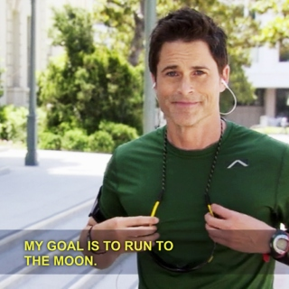 Chris Traeger wants to run w/ you