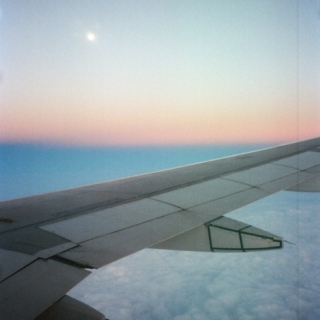 lonely plane rides.