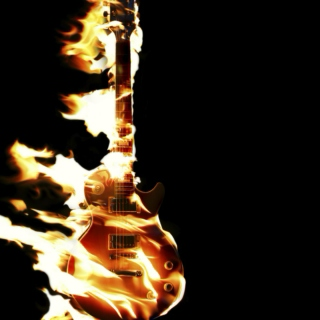 My Guitar is On Fire!!