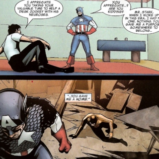 31 Pieces Of Silver - Another Steve/Tony Civil War Playlist