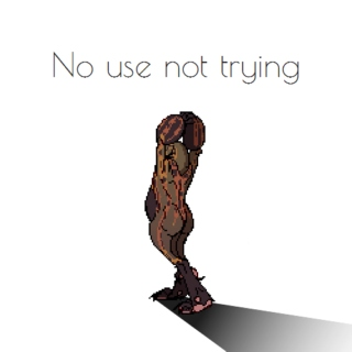 No use not trying