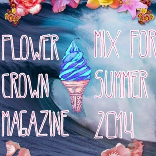 Spend My Summers In Flower Crowns