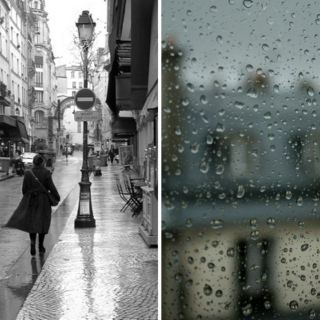 Rainy August in Paris