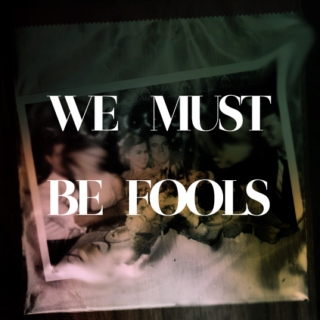 We must be fools