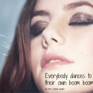 Everybody dances to their own boom boom
