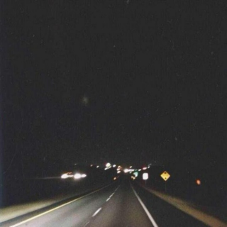 3 a.m. road trip to nowhere ☽