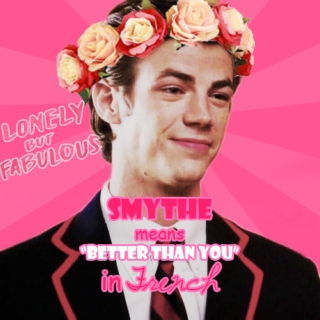 Smythe means 'better than you' in French