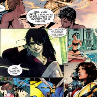 There is only ever one Janet Van Dyne.