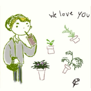 talking to my plants at 4am