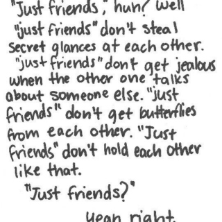 "More Than ""Just Friends"""