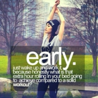wake up and work it