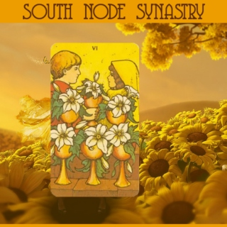 ☋ south node synastry