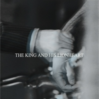 the king and his lionheart