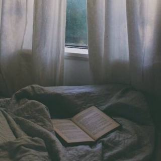 cold, cozy nights, warm blankets and good music.