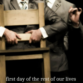 first day of the rest of our lives [hanschen/ernst]