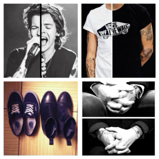 Larry Stylinson - Turning From Praise (Punk!Harry Christian!Louis AU)
