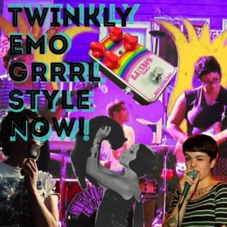 Twinkly Emo Grrrl Style Now!