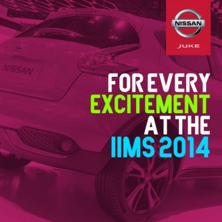 For Every Excitement at the IIMS2014