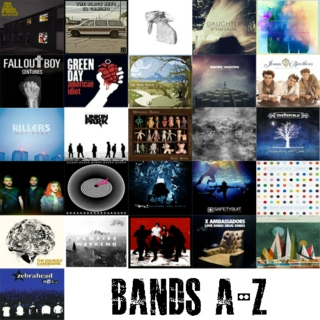 Bands A-Z