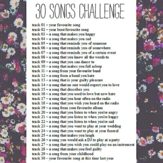 The Thirty Song Challenge