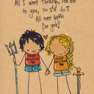"""""""As Long as We're Together"""" - Percy and Annabeth"""