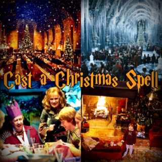 ❅ Cast a Christmas Spell ❅ A Harry Potter Holiday Mix