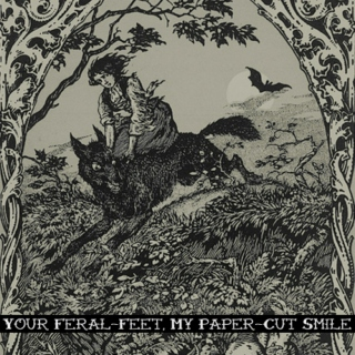 Your Feral-Feet, My Paper-Cut Smile