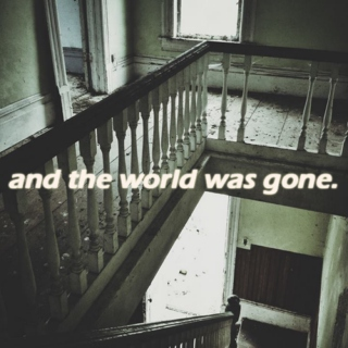 the world was gone.