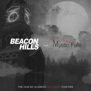 Halloween in Beacon Hills and Mystic Falls - Part 1 and 2