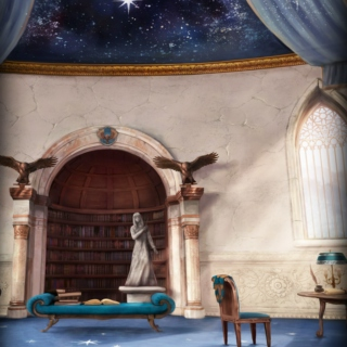 Blue & Bronze: Ravenclaw Common Room