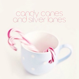 candy canes and silver lanes