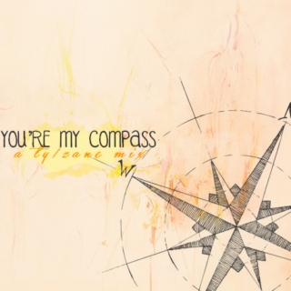 you told me one time that... i was your compass