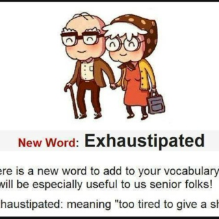 I'm Fucking Exhaustipated