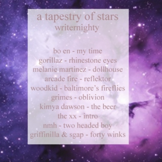 a tapestry of stars