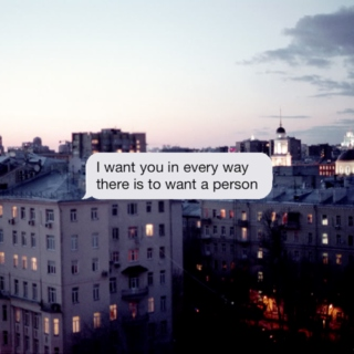 I Just Want You.