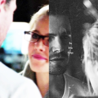 olicity; it's the little things.