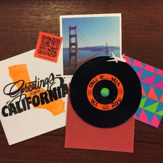 BK Mix Club | October 2014 - Greetings from California