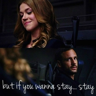 but if you wanna stay... stay