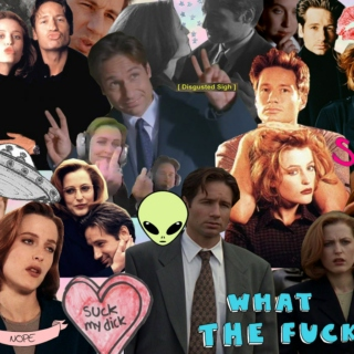 I do not gaze at scully