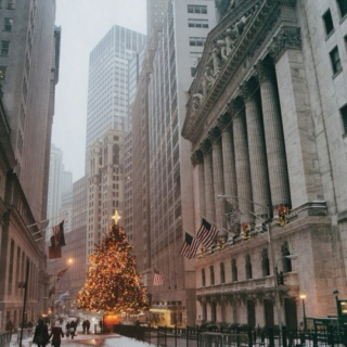 // christmas in new york city //